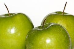 μήλα πράσινα Στοκ Εικόνες