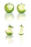 μήλα πράσινα Στοκ εικόνα με δικαίωμα ελεύθερης χρήσης