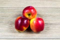 Μήλα ως διατροφή βιταμινών Στοκ Εικόνες