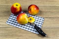 Μήλα ως διατροφή βιταμινών Στοκ εικόνες με δικαίωμα ελεύθερης χρήσης