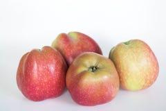 3 μήλα Στοκ Φωτογραφίες