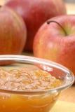μήλο ακριβώς Στοκ Εικόνες