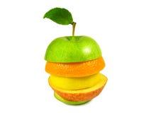μήλο ανάμεικτο Στοκ Φωτογραφία