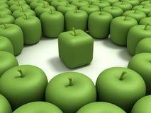 μήλο αρχικό Στοκ φωτογραφίες με δικαίωμα ελεύθερης χρήσης