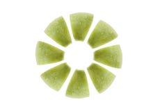 μήλο ι φέτες Στοκ φωτογραφίες με δικαίωμα ελεύθερης χρήσης