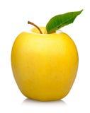 μήλο κίτρινο Στοκ Εικόνες