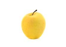 μήλο κίτρινο Στοκ εικόνα με δικαίωμα ελεύθερης χρήσης