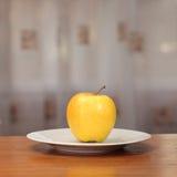 μήλο κίτρινο Στοκ φωτογραφίες με δικαίωμα ελεύθερης χρήσης