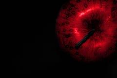 μήλο κακό Στοκ εικόνα με δικαίωμα ελεύθερης χρήσης