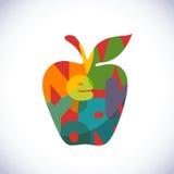 μήλο μεγάλο Στοκ Εικόνα