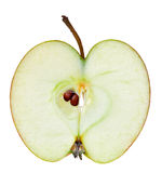 μήλο μισό στοκ φωτογραφίες με δικαίωμα ελεύθερης χρήσης