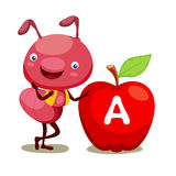 μήλο μυρμηγκιών ελεύθερη απεικόνιση δικαιώματος