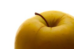 μήλο που απομονώνεται Στοκ Εικόνες