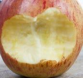μήλο που δαγκώνεται στοκ εικόνα με δικαίωμα ελεύθερης χρήσης