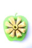 μήλο που τεμαχίζεται Στοκ Εικόνα