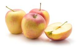 Μήλο Evelina που απομονώνεται Στοκ Εικόνες