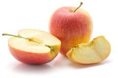 Μήλο Evelina που απομονώνεται Στοκ Φωτογραφία