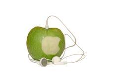 μήλο ieat Στοκ Εικόνες