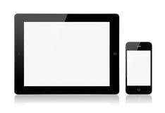 μήλο ipad3 iphone4s Στοκ Εικόνες
