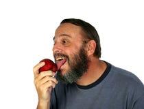 μήλο licker Στοκ Φωτογραφίες