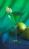 μήλο martini Στοκ Εικόνες