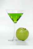 μήλο martini Στοκ Εικόνα