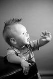 μήνας εννέα αγοριών παλαιός Στοκ εικόνες με δικαίωμα ελεύθερης χρήσης