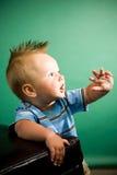 μήνας εννέα αγοριών παλαιό&sigma Στοκ φωτογραφίες με δικαίωμα ελεύθερης χρήσης