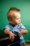 μήνας εννέα αγοριών παλαιό&sigma Στοκ Φωτογραφίες