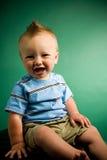 μήνας εννέα αγοριών παλαιό&sigma Στοκ Εικόνες