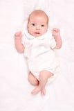 μήνας μωρών ένας Στοκ εικόνα με δικαίωμα ελεύθερης χρήσης