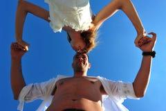 μήνας του μέλιτος χορού ζ&ep στοκ εικόνες με δικαίωμα ελεύθερης χρήσης