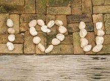 μήνυμα αγάπης Στοκ Εικόνες