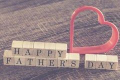 Μήνυμα ημέρας πατέρα στοκ εικόνα με δικαίωμα ελεύθερης χρήσης