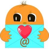 Μήνυμα ηλεκτρονικού ταχυδρομείου Στοκ εικόνα με δικαίωμα ελεύθερης χρήσης