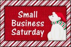 Μήνυμα Σαββάτου μικρών επιχειρήσεων στοκ φωτογραφίες