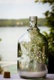Μήνυμα σε ένα μπουκάλι Στοκ εικόνα με δικαίωμα ελεύθερης χρήσης