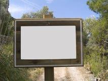 μήνυμα χαρτονιών στοκ εικόνα με δικαίωμα ελεύθερης χρήσης