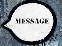 μήνυμα στοκ εικόνες