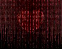 Μήτρα καρδιών απεικόνιση αποθεμάτων
