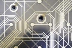 Μήτρα πληκτρολογίων από ένα πληκτρολόγιο qwerty Στοκ Εικόνες