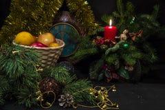 Μήλα για το νέο έτος Στοκ Εικόνες
