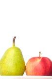 Μήλα και αχλάδια Στοκ Φωτογραφίες