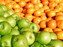 Μήλα και tangerines 2011 του Τελ Αβίβ Στοκ Φωτογραφία