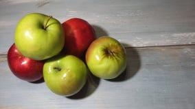 μήλα πολλά Στοκ Εικόνες