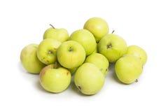 μήλα πράσινα πολλά Στοκ εικόνες με δικαίωμα ελεύθερης χρήσης