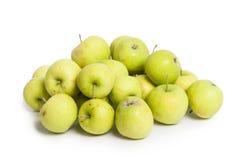 μήλα πράσινα πολλά Στοκ Εικόνα