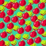 Μήλα υποβάθρου Στοκ Εικόνες