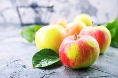 μήλα φρέσκα Στοκ Εικόνες