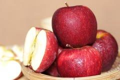 μήλα φρέσκα Στοκ Φωτογραφίες